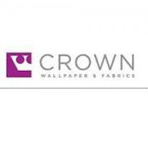 Crown wallpaper fabrics logo
