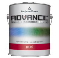 benjamin moore advance interior paint pearl