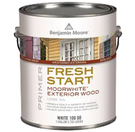 benjamin moore fresh start moorwhite exterior wood paint
