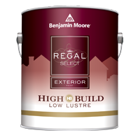 benjamin moore regal select exterior paint low lustre
