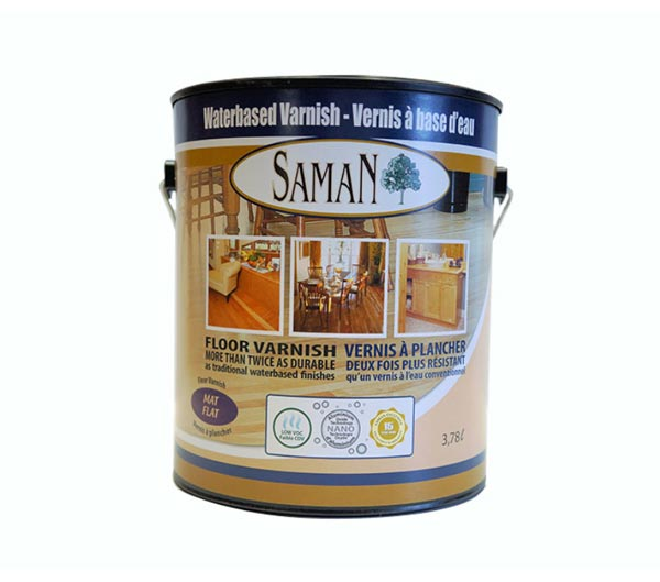 saman water based varnish